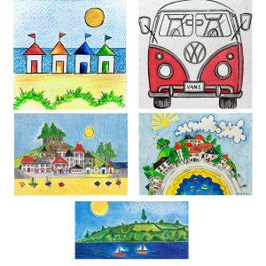 Cornish Scene Card Multipack